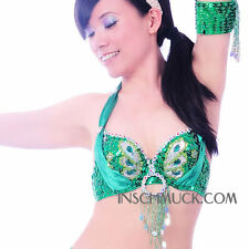 C91603 Belly dance costume bra Top shell in 12 Colors 34 36 38 40