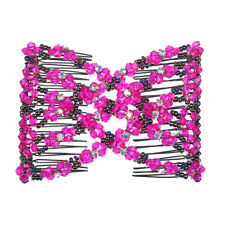 Ez Magic Beads Comb Double Stretching Clips Ponytails Hair Accessory Hairstyles
