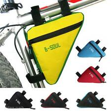 MTB Bike Bicycle Cycling Frame Front Tube Triangle Saddle Bag Pouch Pannier New