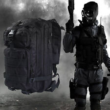 3P Military Tactical Backpack Oxford Sport Bag 30L for Camping Adventure Hiking