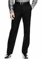 JMROPJRY0024 Calvin Klein Pants  Solid Flat Front New Mens (34W x