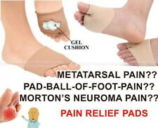 Metatarsal Ball Of Foot Pain Relief Gel Pads Cushion Forefoot Toe Shoe Insole
