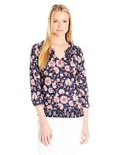 Lucky Brand Womens Collection 7W62732 Multi Floral Peasant- Choose SZ/Color.