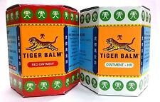 30G Tiger Balm Thai Herbal Red  White Extra Strength Pain Relief Massage Rub