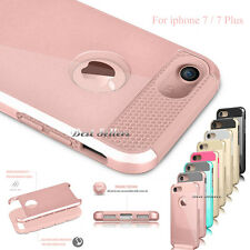 Shockproof Dust Proof Hybrid Rubber Hard Case Cover For Apple iPhone 7 / 7  Plus