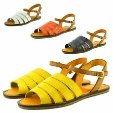 LADIES WOMENS FASHION CASUAL SANDALS CLASSIC BEACH MULES SUMMER MENORCAN SHOES
