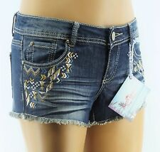 Almost Famous Jean Shorts Juniors Destroyed Denim
