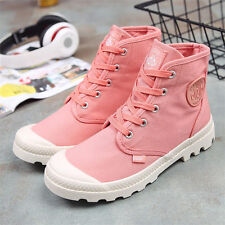 New Womens Classic Trainers Casual Flat Canvas Shoes Fashion Sneakers Outdoor