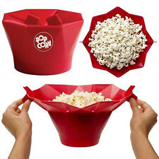 2016 Silicone Microwave Magic Popcorn Maker Popcorn Container Healthy Cooking