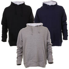 Mens Rock N Rock Casual Hooded Sweat Top Casual Sport Track Top In 3 Colours