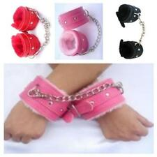 Adult Leather Bondage Fetish Handcuffs Ankle Cuffs Restraints Sex Toy 3Colors N7