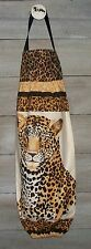 Spotted Leopard Snow Leopards Plastic Grocery Bag Rag Sock Holder  HCF&D