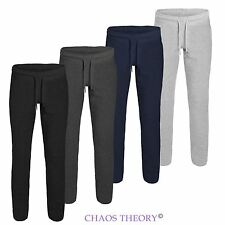 Mens Joggers Tracksuit Bottoms Trousers Gym Jogging Sweat Pants