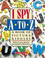 I Spy A To Z: A Book of Picture Riddles, Marzollo, Jean