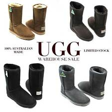 UGG BOOTS - 100% AUSTRALIAN MADE- CLASSIC MID UGGS | CLASSIC SHORT UGGS