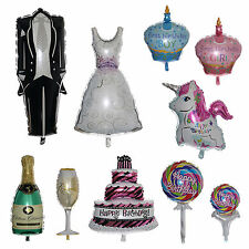 10 STYLE HUGE HELIUM FOIL BALLOON BOY OR GIRL PARTY SHOWER BIRTHDAY PARTY DECOR