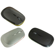 2.4GHz Wireless Ultra Thin Mouse USB Optical Scroll Mice Tablet Laptop Computer