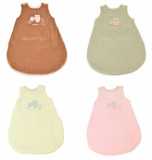Sleeping Bag Wrap Blanket Grobag Newborn Baby Embroidered 3-6 Months Uk Sale