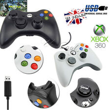 Latest Wired Controller USB Gamepad Joypad For Microsoft Xbox 360 PC Windows UK