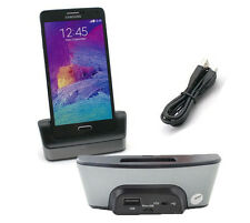 Battery Cradle Dock Charger Holder with USB OTG For Samsung Galaxy Note 4 N9100