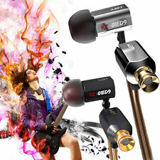 KZ ED9 in ear Hifi earphone Headphone Noise Isolating Super Bass Stereo With Mic