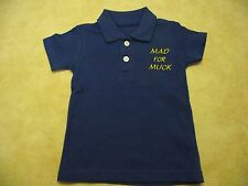 NEW HOLLAND BOYS POLO SHIRT 3 MONTHS-3 YEARS STYLE 1