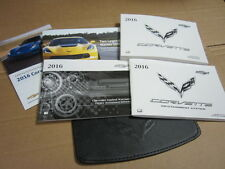 2016 CHEVY CORVETTE OWNERS MANUAL WITH NAVIGATION (OEM)  - J3292