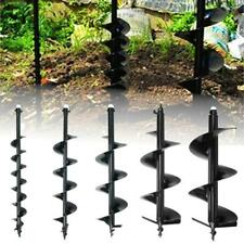"""52cc GAS POWER EARTH ONE MAN POST FENCE HOLE DIGGER DRILL BITS 4"""" 6"""" 8"""" 10""""12"""""""