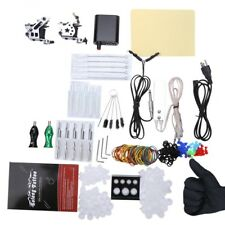 New Solong Complete Tattoo Kit 10 Wrap Coils Guns Machine Power Supply