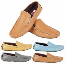 Mens Driving Shoes Loafers Moccasins Designer Casual Boys Slip On Shoes