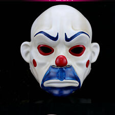 New Adult Superhero Batman Dark Knight Joker Bank Robber Mask Halloween Costume