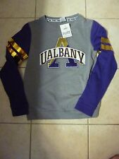 "VICTORIAS SECRET PINK RARE""PINK""UNIVERSITY ALBANY BLING COLLEGIATE SCOOPNECK NWT"