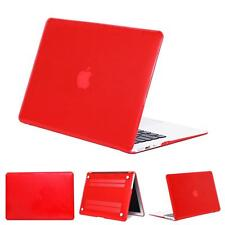 """Laptop Rubberized Hard Shell Crystal Case Cover For MacBook White 13"""" A1342"""