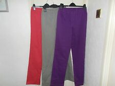 Cotton Traders, Sizes 10, 12, 18, Stretch Waist Pull On Trousers, Jeggings