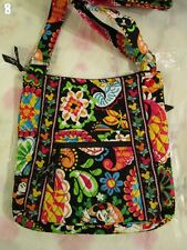VERA BRADLEY DISNEY Large Hipster Midnight With Mickey TAG Crossbody M8