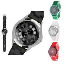 Luxury Unique Designe Ladies Men's Sports Brand Silicone Jelly Wrist Watch New