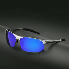 Mens Fashion Retro Aluminum Polarized Sunglasses Driving Eyewear Glasses Shades