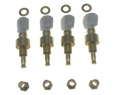 Set of 4 Gold w/ Aged White Buttons Banjo Geared Tuners Tuning Pegs Machine Head