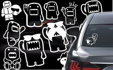 Domo Kun Sticker JDM Decal Car Window Truck Auto Bumper Laptop Wall Cars 21 typ