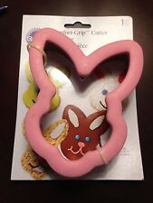 WILTON COMFORT GRIP COOKIE CUTTERS Easter Bunny Rabbit, Easter Egg New