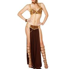 Cleopatra Costume Adult Egyptian Goddess Halloween Fancy Dress Sexy Belly Dance