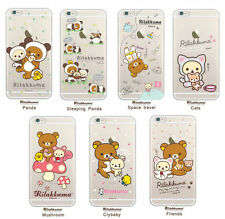 RILAKKUMA Cell Phone Case Cover Protector Accessories For iPhone 6/6S/Plus