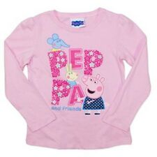 NEW Peppa Pig Pink Cotton Long Sleeve Tee
