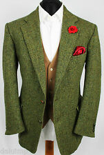 Mens Harris Tweed Blazer Jacket Wedding Country Hacking 42S EXCEPTIONAL COLOUR