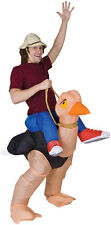 ILLUSION OLLIE OSTRICH Inflatable Adult Costume Funny Comical Theme Halloween