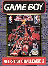 Nintendo GameBoy Game NBA ALL STAR CHALLENGE 2 - Cartridge Only