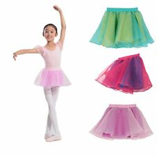 1-6Y Toddler Baby Girl Kid Ballet Dance Skirt Dress Party Tutu Dancewear Lovely