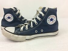 Blue Converse All Star Hi Tops Trainers Size 2