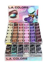 L.A. Colors Iced Pigment Powder Eye shadow Metallic 12 Colors Long lasting