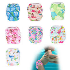 Swimwear Pattern Baby Reusable Cloth Diapers Diapers Training Pants Unisex